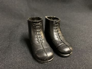 VINTAGE ACTION MAN -  SHORT BLACK BOOTS